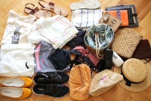 luggage clothes