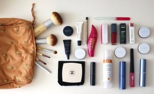 organic makeup bag