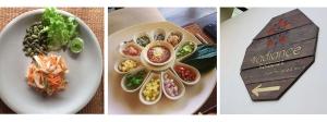 raw pad thai & starter & radiance restaurant