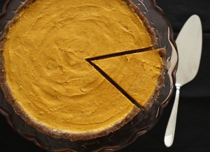 raw pumpkin pie 2