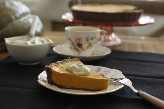raw pumpkin pie 6