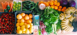 weekly produce haul