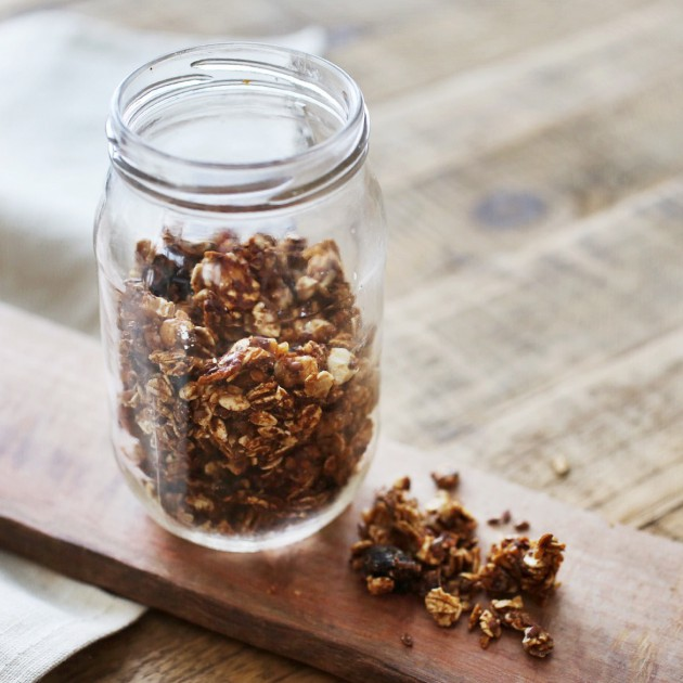 granola (baked and raw versions)