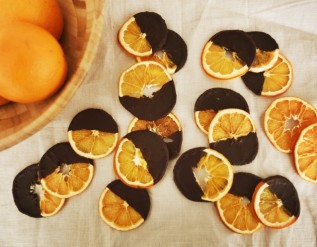 citrus fruits (a breakfast and a snack recipe)