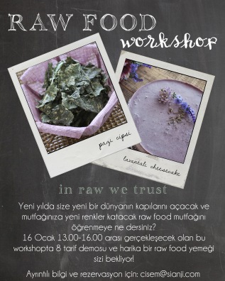 Senenin ilk Workshop'u…